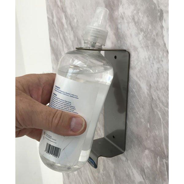 sanitiser bottle
